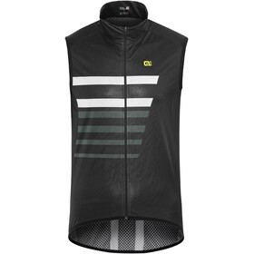 Alé Cycling Crossover Capitano Fietsvest Heren wit/zwart